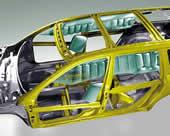 боковые airbag на новой BMW 7 серии