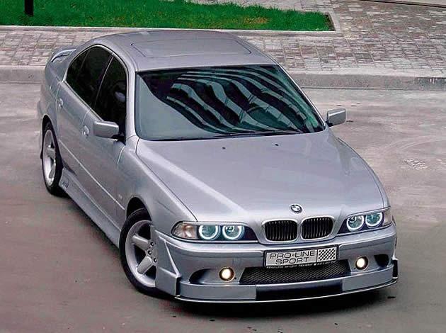 BMW 530i E39: внешний тюнинг